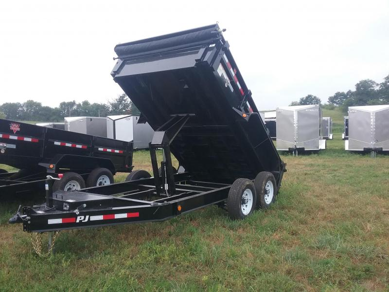 DL122 Low-Pro PJ Dump Trailer