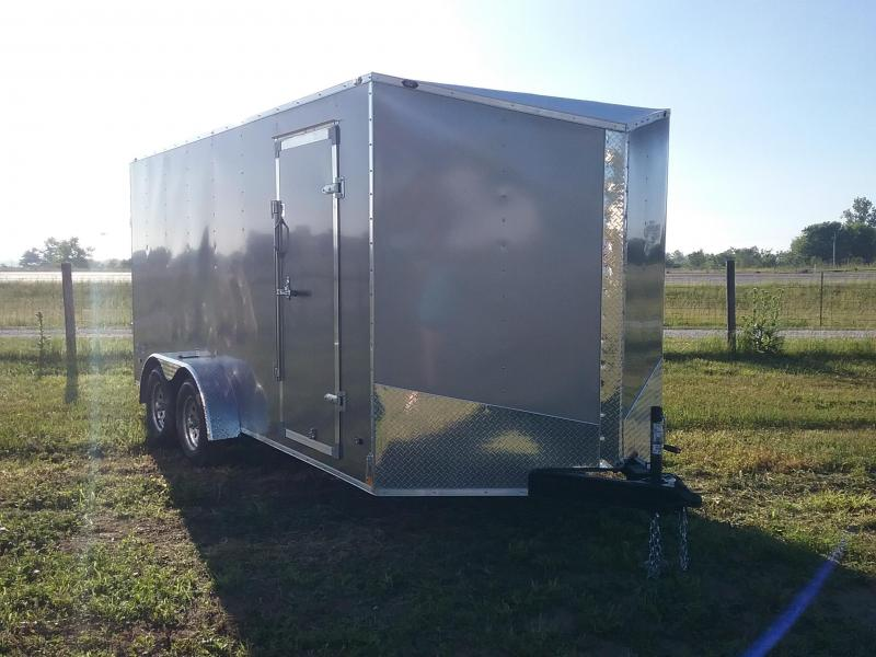 7X16 Plus 6 Inches Stealth Mustang Enclosed Cargo Trailer