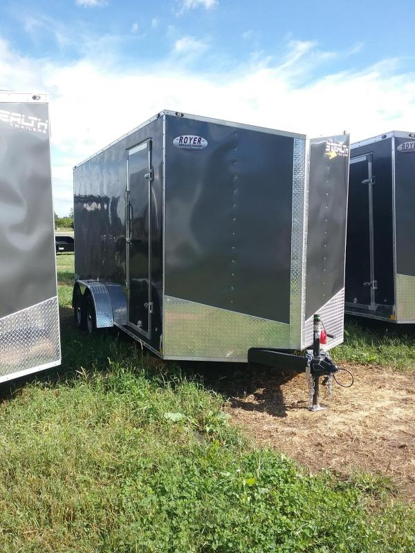2019 Stealth Trailers Mustang 7x16 12 Series Enclosed Cargo Trailer