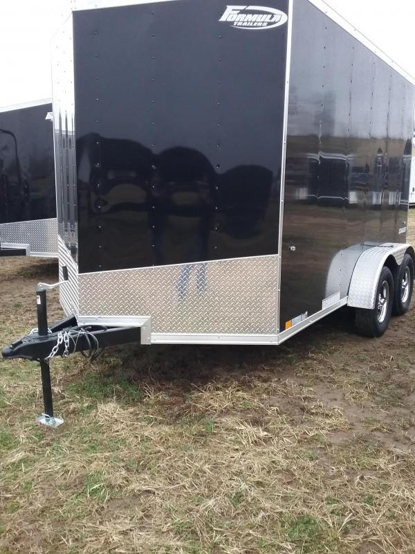 2019 Formula Conquest 7x16 Enclosed Cargo Trailer