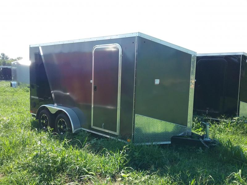 "7X14 (+6"" Extra Height) Impact Shockwave Enclosed Cargo Trailer"