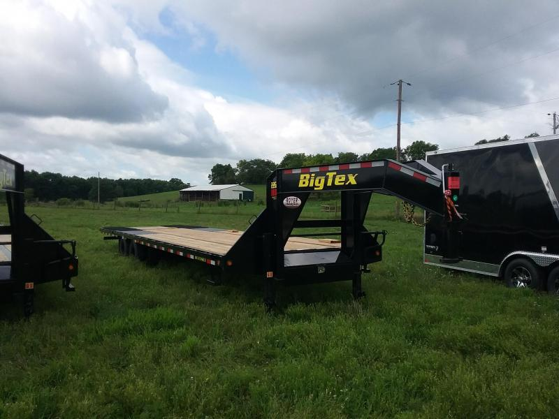 22GN 35 Foot Big Tex Gooseneck Equipment Trailer