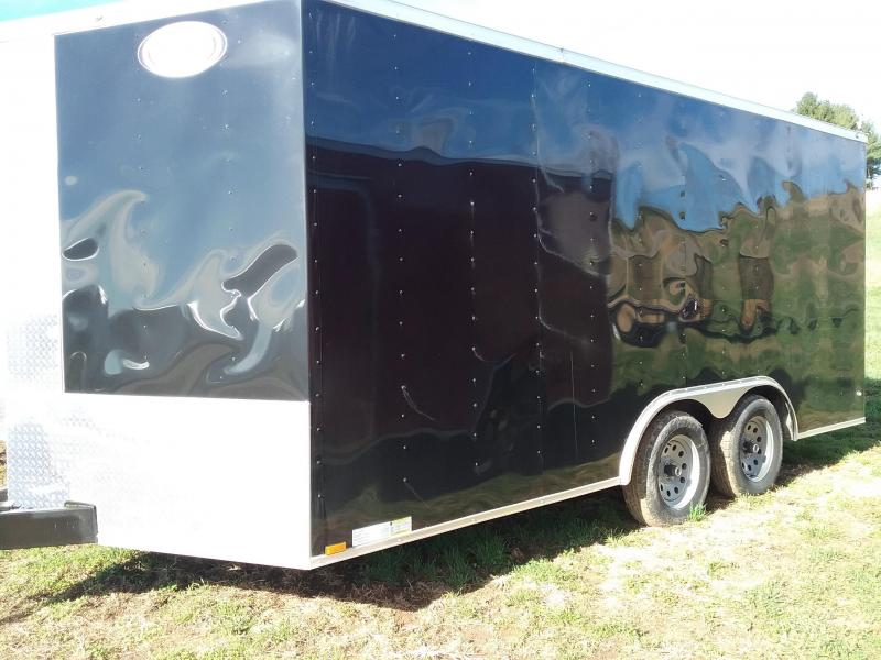 2018 Diamond Cargo Enclosed Trailer