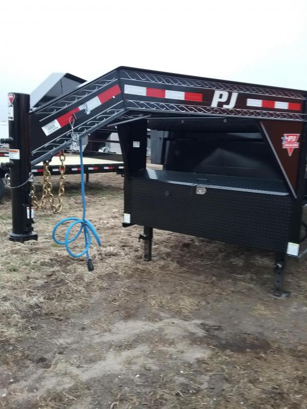 PJ Dump Trailer With Tarp 83x16'