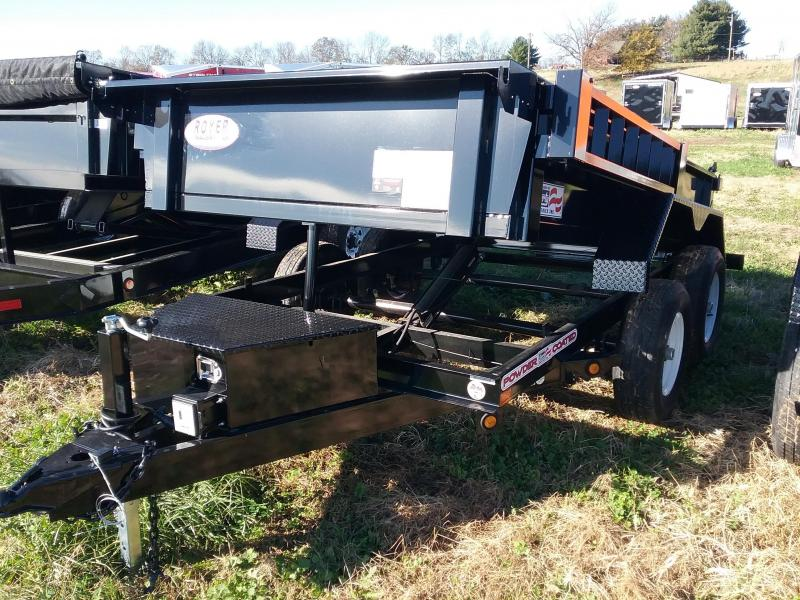 2019 Liberty Trailer 6x10 Low Pro Dump with Ramps