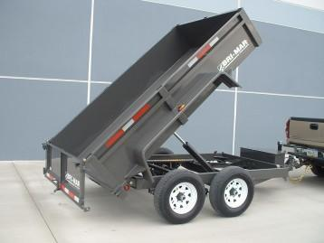 2018 Bri-Mar DT610LP-10 Dump Trailer