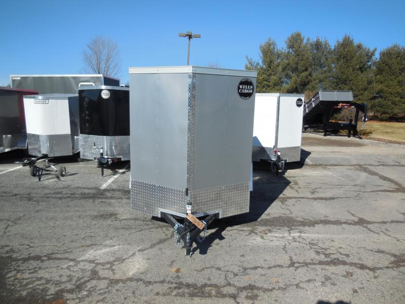 2018 Wells Cargo WCVG58S Enclosed Cargo Trailer