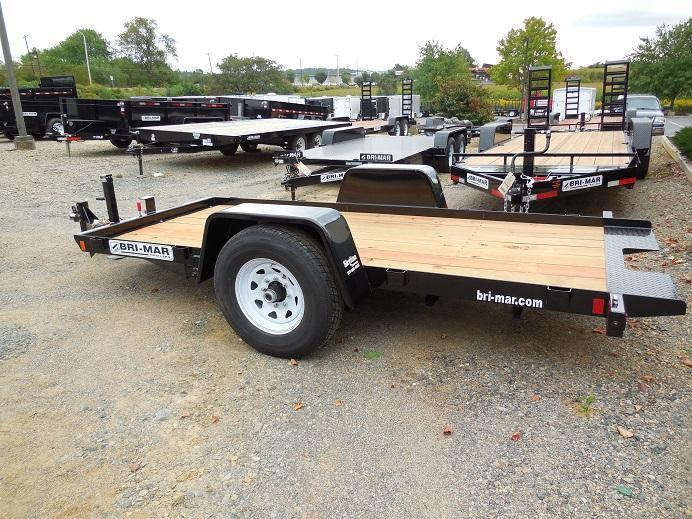 2018 Bri-Mar T512-6 Equipment Trailer