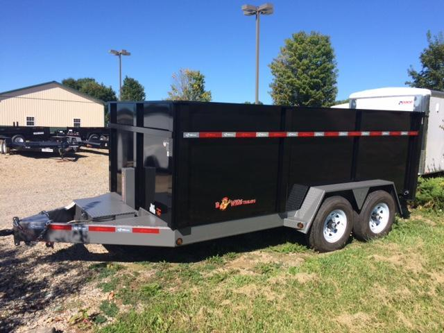 2018 B-Wise DLP16-15 Dump Trailer