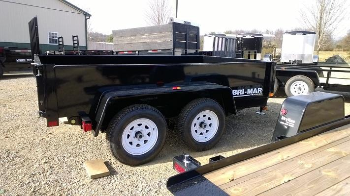 2018 Bri-Mar DTR610LP-7 Dump Trailer