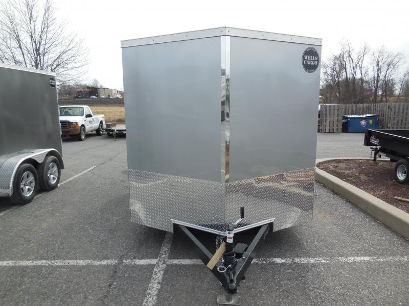 2018 Wells Cargo WCVG7X12T Enclosed Cargo Trailer