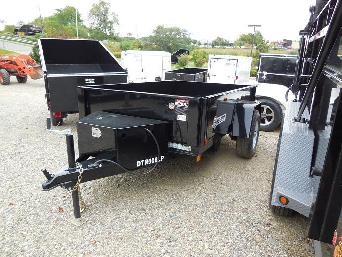 2019 Bri-Mar DTR508LP-3 Dump Trailer