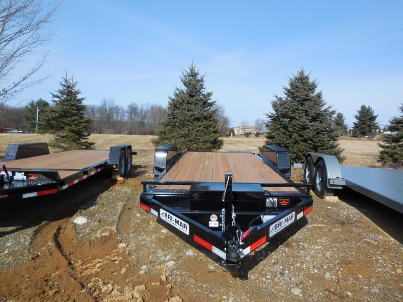 2019 Bri-Mar HT18-14 Equipment Trailer
