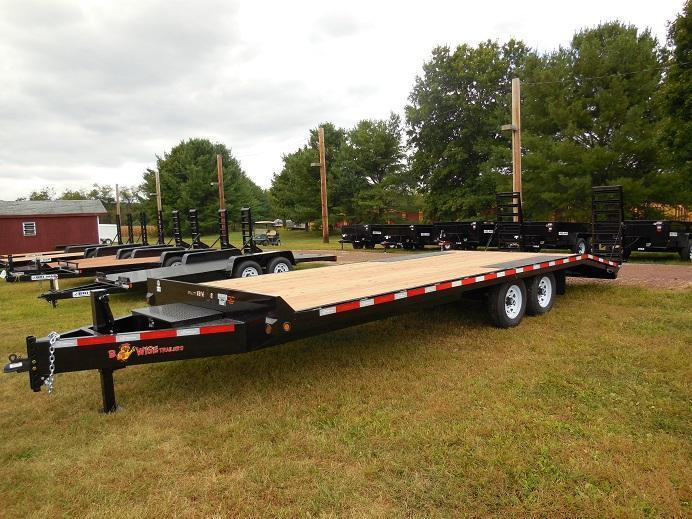 2018 B-Wise EDB24-15 Equipment Trailer