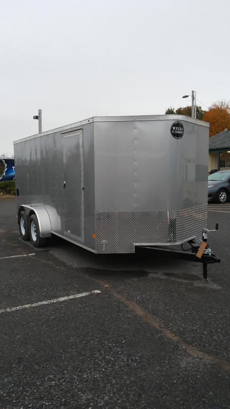 2018 Wells Cargo FT7162 Enclosed Cargo Trailer
