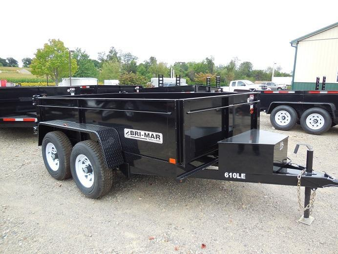 2018 Bri-Mar DT610LP-LE-10 Dump Trailer