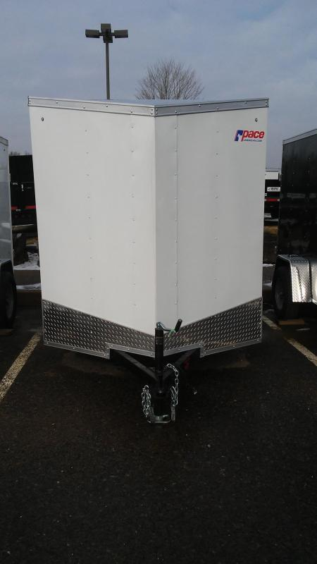 2018 Pace American OB6X10SI2DLX Enclosed Cargo Trailer