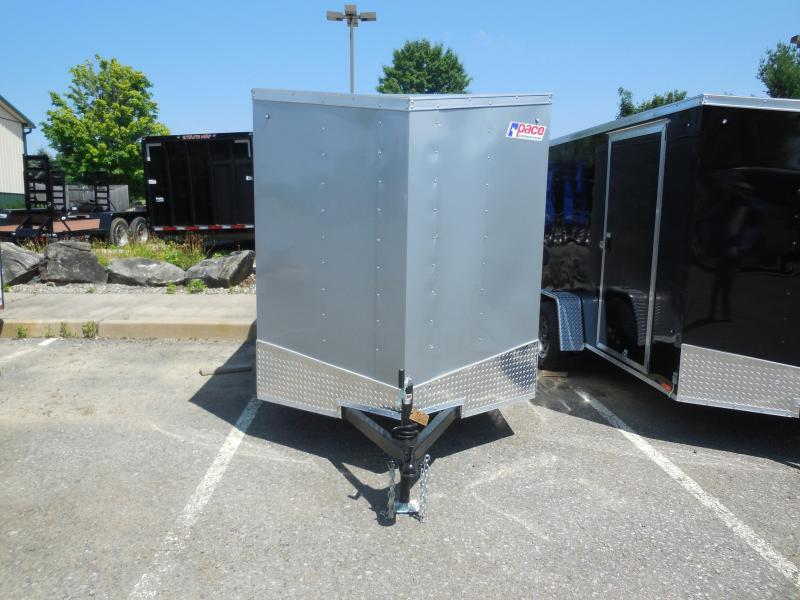 2019 Pace American OB6X10SI2DLX Enclosed Cargo Trailer
