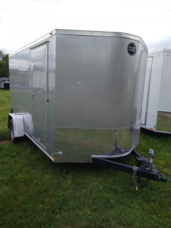 2020 Wells Cargo RFV712S2 Enclosed Cargo Trailer