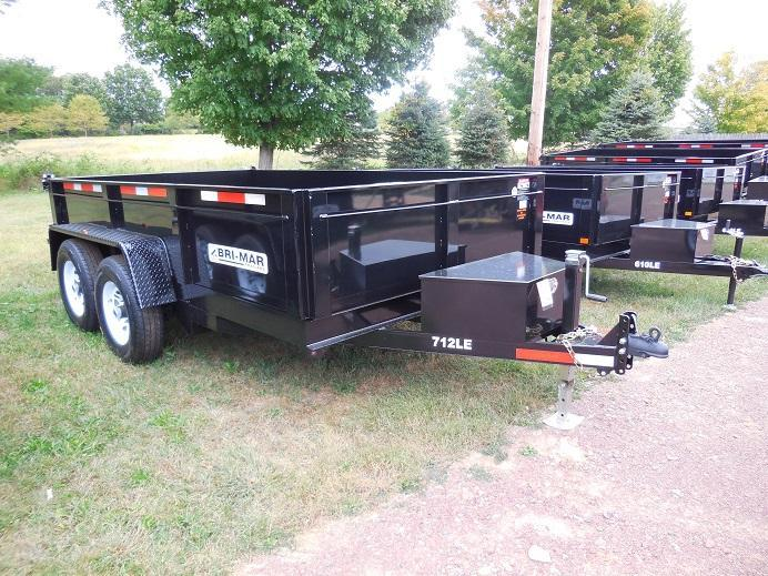 2018 Bri-Mar DT712LP-LE-12 Dump Trailer