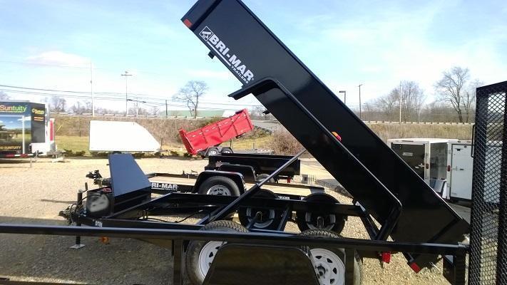 2018 Bri-Mar DTR610LP-10 Dump Trailer