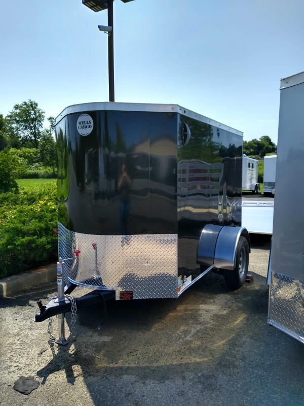 2019 Wells Cargo RFV58S2 Enclosed Cargo Trailer