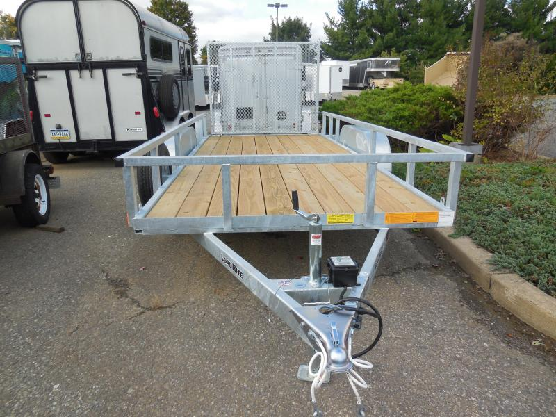 2019 Load Rite UT6516E2 Utility Trailer