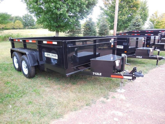 2019 Bri-Mar DT712LP-LE-12 Dump Trailer