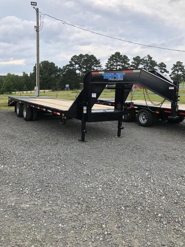 2019 Top Hat Trailers 20 plus 5 Flatbed Trailer