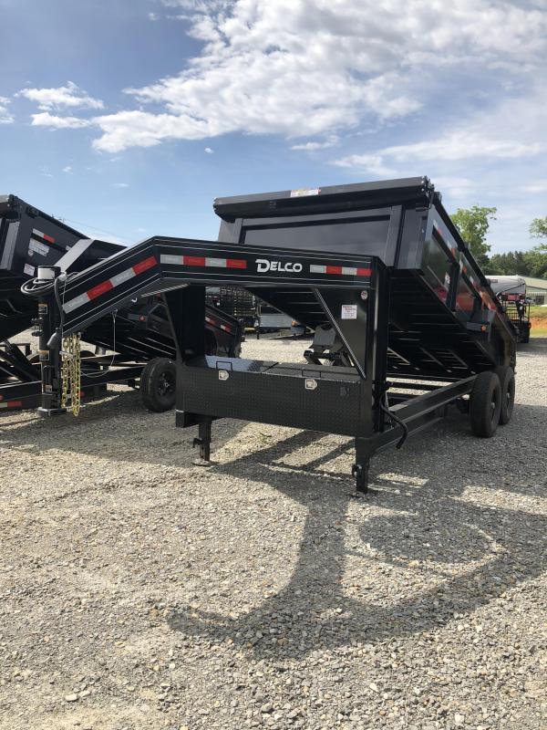 2019 Delco Trailers 16x83 GN Dump Trailer