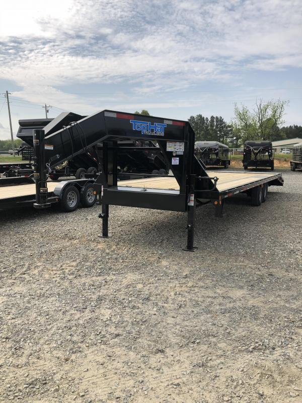 2019 Top Hat Trailers 24 plus 5 Flatbed Trailer
