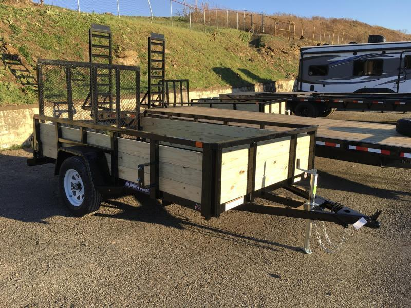 2018 Sure-Trac 6x12' Tube Top 3-Board High Side Utility Trailer 2990# GVW