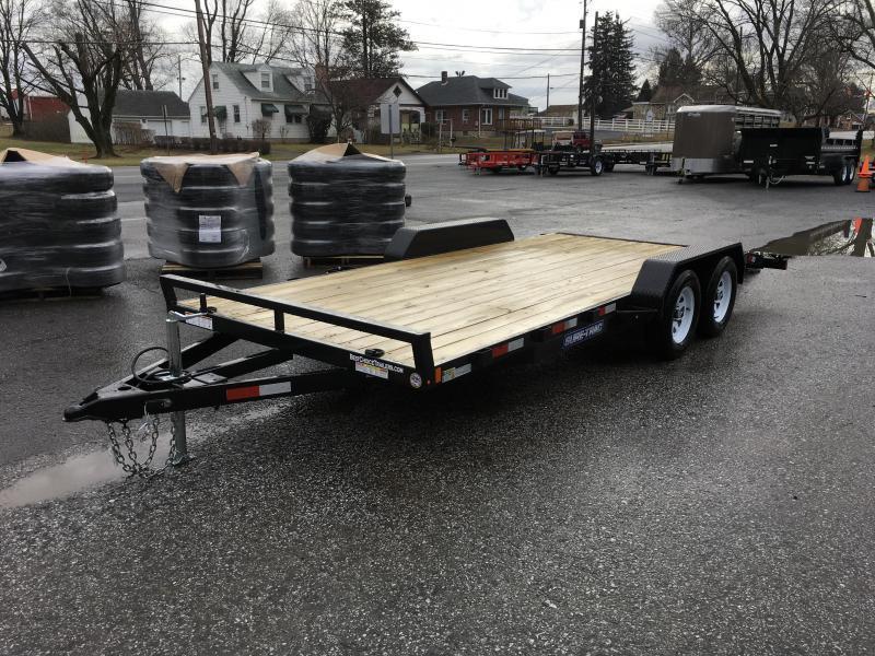 2017 Sure Trac Chw 7x20 7000 Wood Deck Car Hauler Www