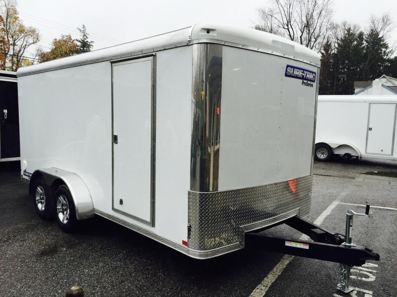 2018 Sure-Trac 7x16' Enclosed Cargo Trailer 7000# GVW