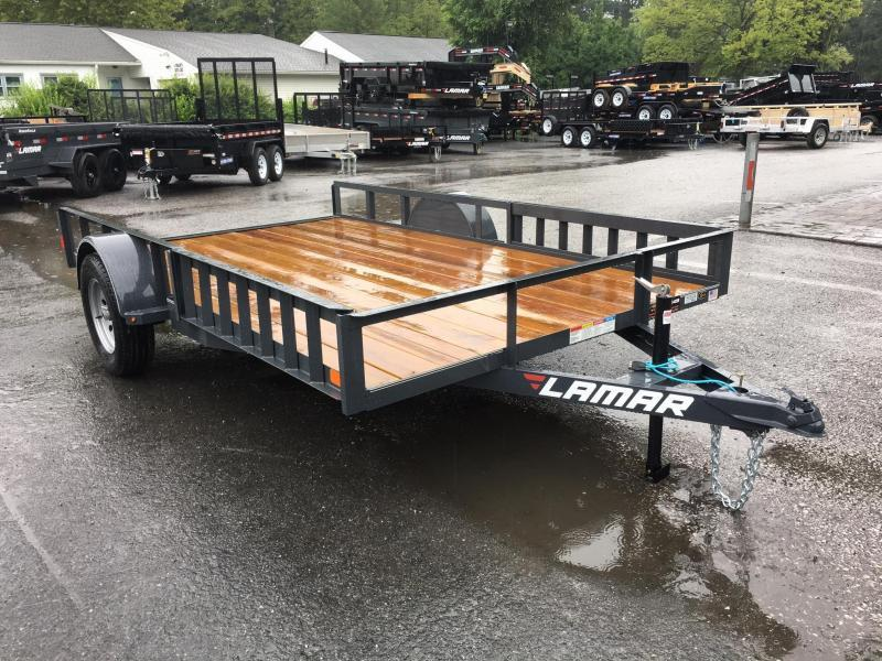 2017 Lamar 7x12' 2990# Landscape Utility Trailer ATV RAMPS