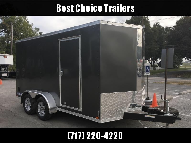 2018 Sure-Trac 7x14' Enclosed Cargo Trailer 7000# GVW * CHARCOAL * CLEARANCE