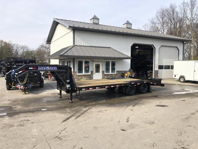 2019 Load Trail 102x25' Gooseneck Beavertail Deckover Flatbed 25990# Trailer * GP0225122 * 12000# AXLES * HDSS Suspension * Dexter's