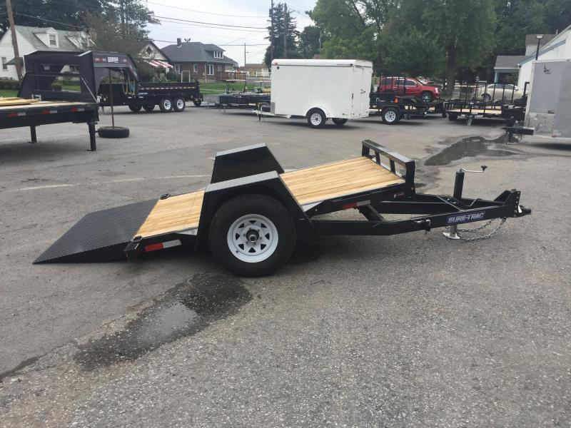 2018 Sure-Trac 5'x10' 5000# GVW Tilt Equipment Trailer Scissor Hauler
