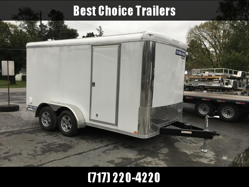 2018 Sure Trac 7x14' Enclosed Cargo Trailer 7000# GVW * CLEARANCE - FREE ALUMNIUM SPARE