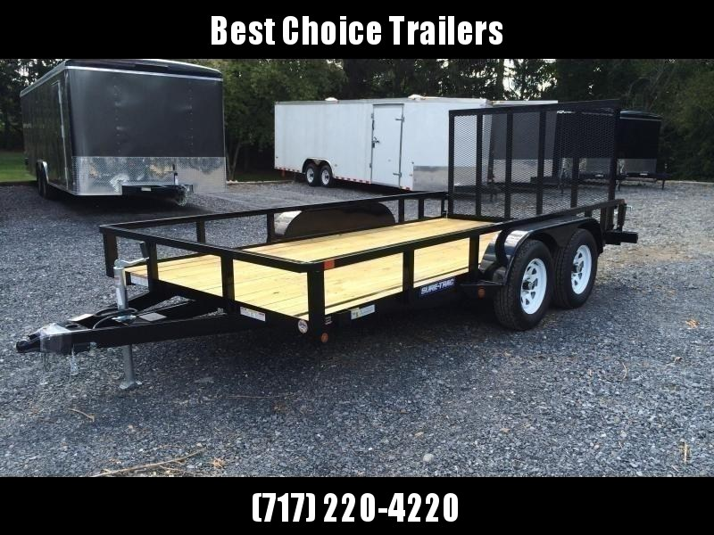 2020 Sure-Trac 7x14' Tube Top Utility Landscape Trailer 7000# GVW