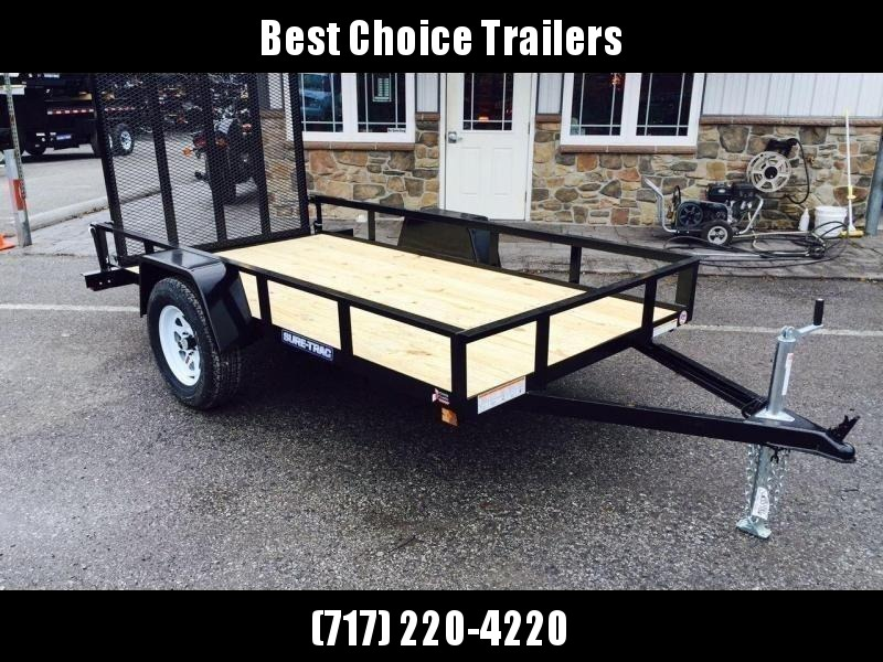 2018 Sure-Trac 5x10' Angle Iron Utility Landscape Trailer 2990# GVW * CLEARANCE - FREE SPARE TIRE