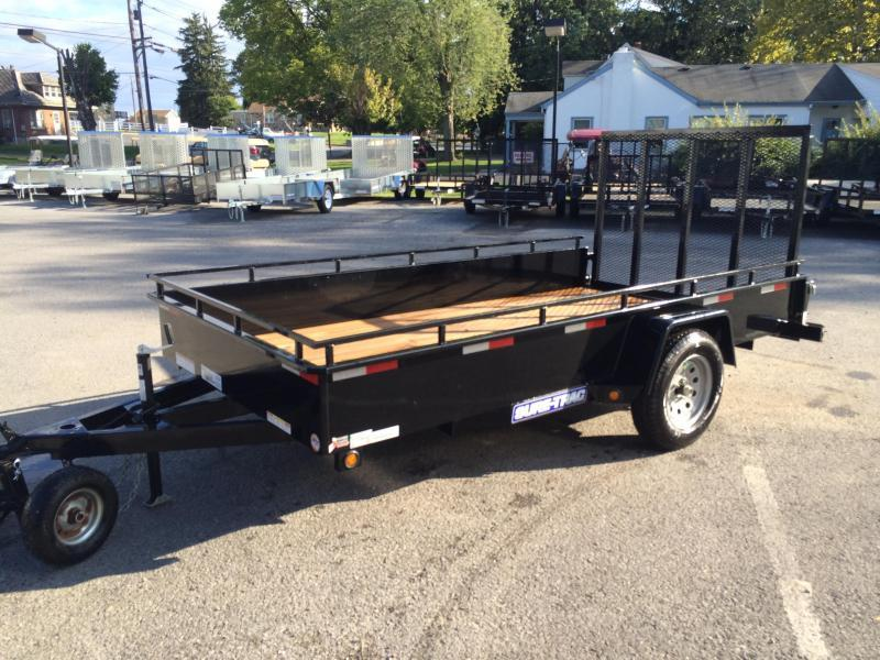 2017 Sure-Trac 6x10' 2990# Steel High Side Landscape Utility Trailer