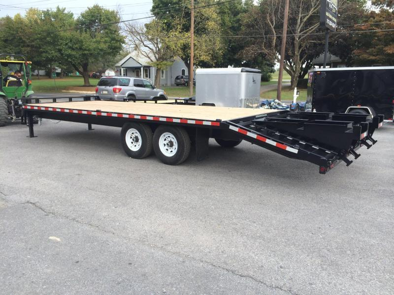 2016 Sure-Trac 102x20+5 15K Beavertail Deckover Trailer