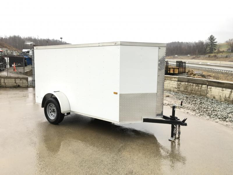 2018 Rock Solid 5x10' Enclosed Cargo Trailer 2990# GVW
