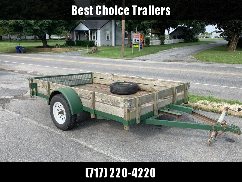 1992 Custom Fab Trade In Utility Trailer
