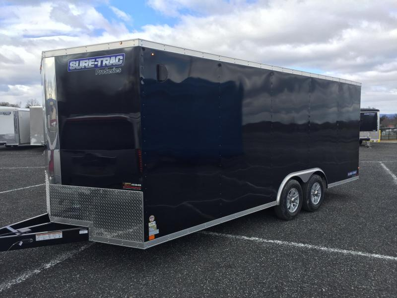 2017 Sure-Trac STWCH Pro Series V-Nose Enclosed Car Hauler 8.5