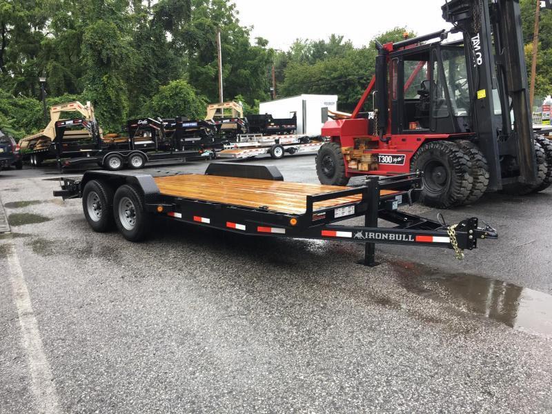 2017 Norstar Ironbull 7X20' Equipment Trailer 14000# GVW - RAMPAGE RAMPS