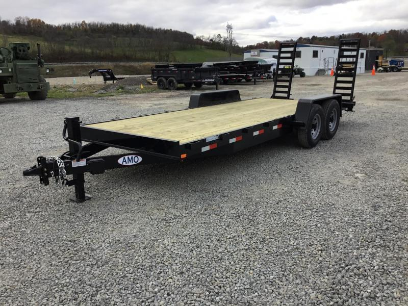 2018 AMO 7x20' Equipment Trailer 12000# GVW