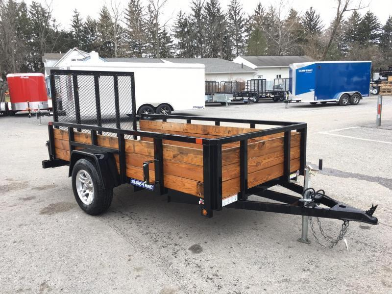 2018 Sure-Trac 5x10' Tube Top 3-Board High Side Utility Trailer 2990# GVW