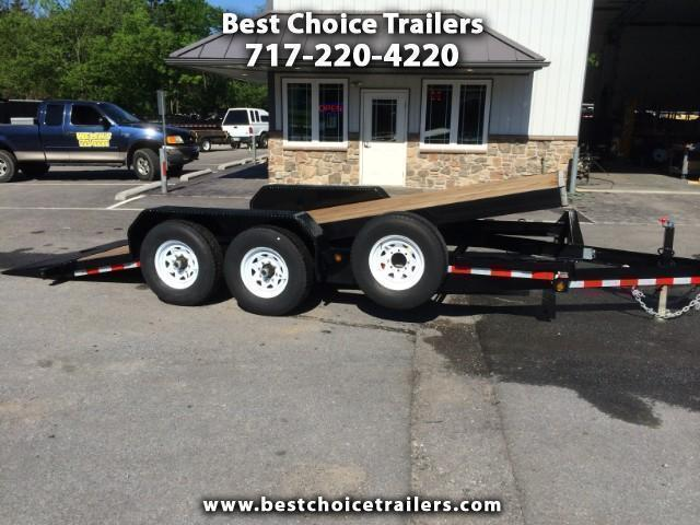 2018 Sure-Trac 7x18' Tilt Bed Equipment Trailer 14000# GVW
